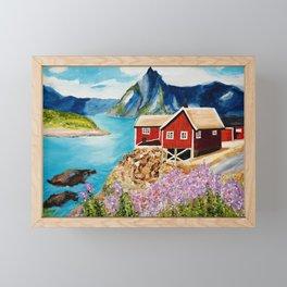 Lofoten Islands, Norway Framed Mini Art Print