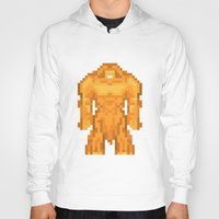 sasquatch Hoodies featuring PixelWorld vol. 1 | Sasquatch by designatius