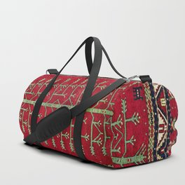 Kazak  Antique Caucasian Rug Print Duffle Bag