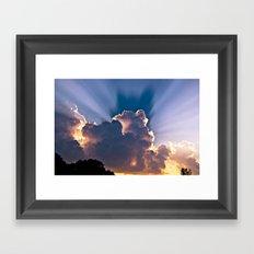 Heavenly Skies Framed Art Print