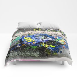 moto gp Comforters