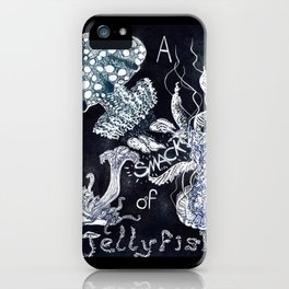 A Smack of Jellyfish iPhone Case