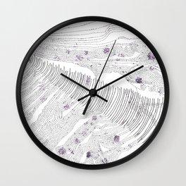 Topografia bibliófaga de imaginação Wall Clock