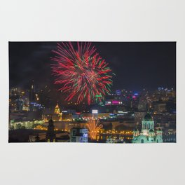 Firework collection 2 Rug