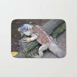 Lizard Art Bath Mat