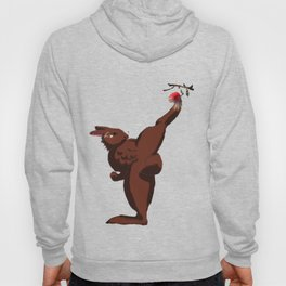 High kick of 6 pack rabbit Hoody