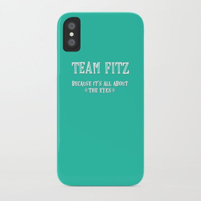team fitz iphone case