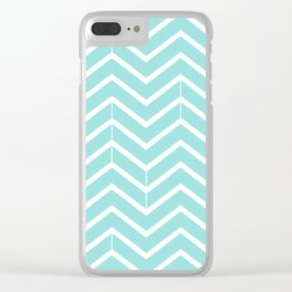Limpet Shell Zigzags Clear iPhone Case