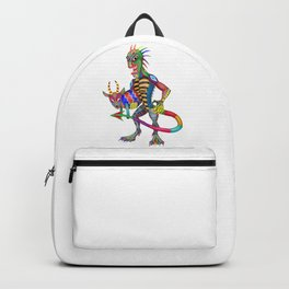 Chupacabra And His Goat Backpack