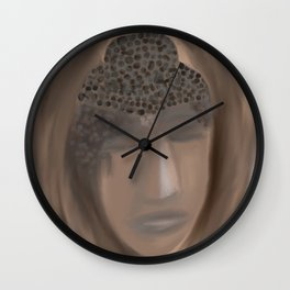 Buddha in a Tree Wall Clock