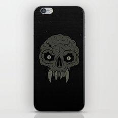 MAGIC SWAMP BLACK MANA SKULL iPhone & iPod Skin