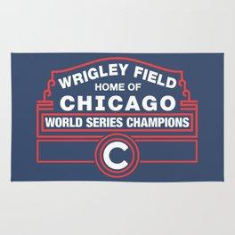 Wrigley Field Rug
