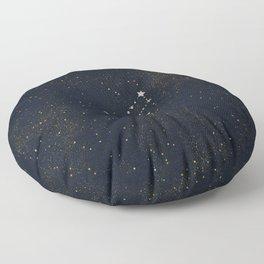Virgo - Rose Gold Floor Pillow