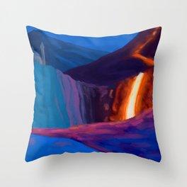 Fantasy Landscape 01 Throw Pillow