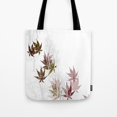 Leaves and Trees Tote Bag