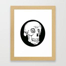 Skull Trance Framed Art Print