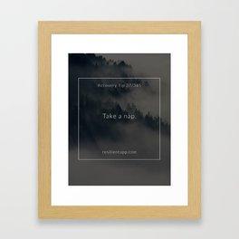 Recovery Tip #37 Framed Art Print