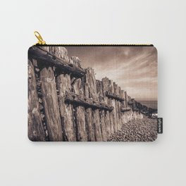 Groynes in Sepia Carry-All Pouch