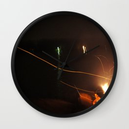 Fire Light Wall Clock