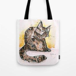 Cat Relax Tote Bag