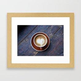 A Whole Latte Love Framed Art Print