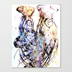 going home. Canvas Print