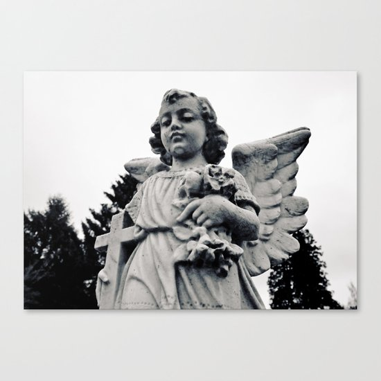 Child angel Canvas Print