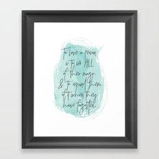To Love... Framed Art Print