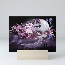 Ghostly Luna Mini Art Print