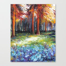 Shuddering Woods Canvas Print