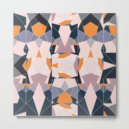 Split Tiles Metal Print