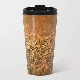 Golden grain   Goldenes Getreide Travel Mug
