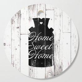 Home Sweet Home Rustic Jug Cutting Board