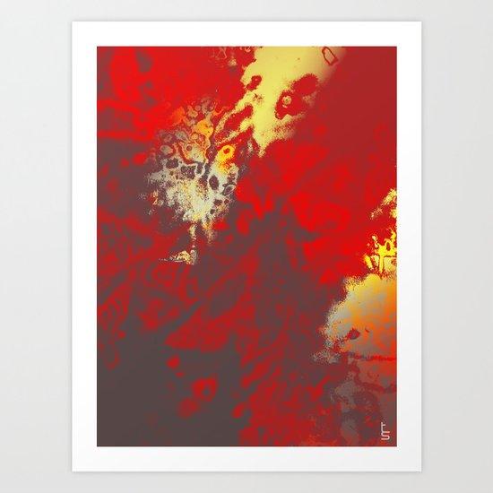 Fire Genesis Art Print