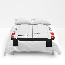 Small Van Back Doors Comforters