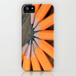 Sharpen Up iPhone Case