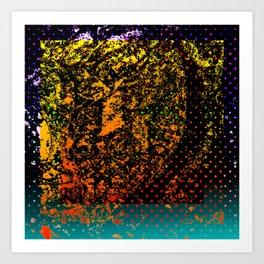 Crumbling Art Print