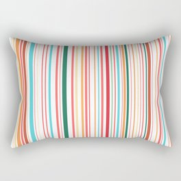 WHY CAN'T BARCODES BE COLORFUL? Rectangular Pillow