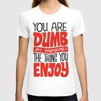 internet T-shirts featuring Internet Comments by Chris Piascik