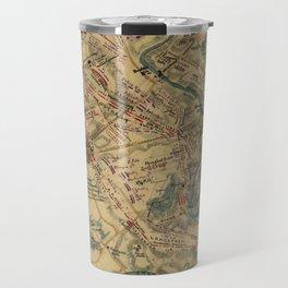 Vintage Antietam Battlefield Map (1862) Travel Mug