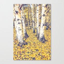 Golden Floor Canvas Print