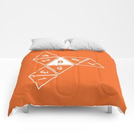 Unrolled D8 Comforters
