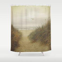 Rockaway Beach Shower Curtain