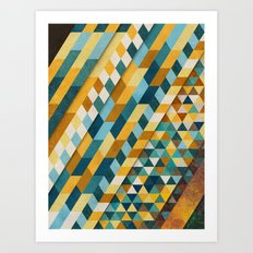 Geometric Palace Art Print