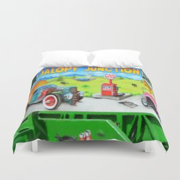 Jalopy Junction 3 Duvet Cover