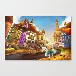 The Bavarian Village Canvas Print