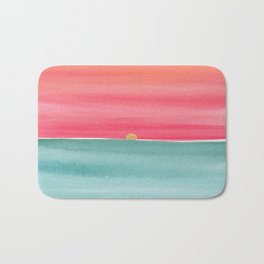#83. ANNE MARIE - Sunset Bath Mat