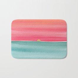 #83. ANNE MARIE - Sunset Bath Mat