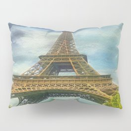 Eiffel Tower - La Tour Eiffel Pillow Sham