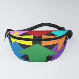 Anywhere You Want to Go - Black Fanny Pack